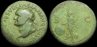 As ou Dupondius de Vespasien Ric_1211