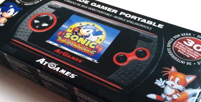 Sega Master System/Game Gear Atgames  Une-at10