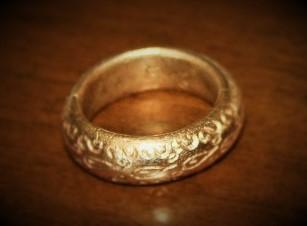 Bagues Bronze doré Prometheus Anneau11