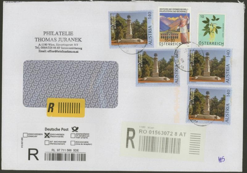 Sammlung Bedarfsbriefe Österreich ab 1945 - Seite 8 01101110