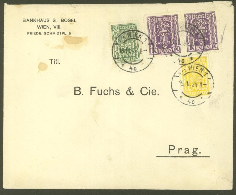Briefe / Poststücke österreichischer Banken - Seite 3 Bankha14