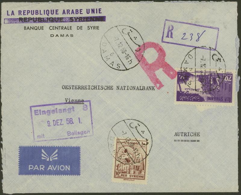 Flugpost nach Österreich - Seite 2 Banque11