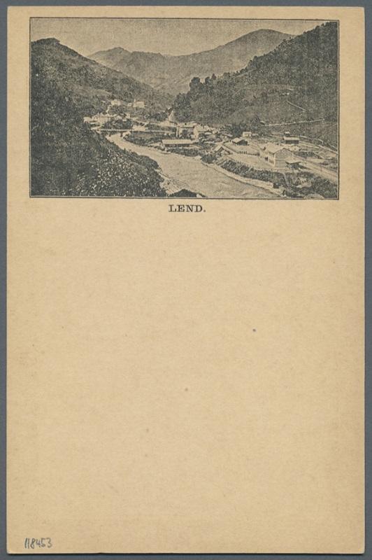 Zudruckkarten als Ansichtskartenvorläufer Lend_10