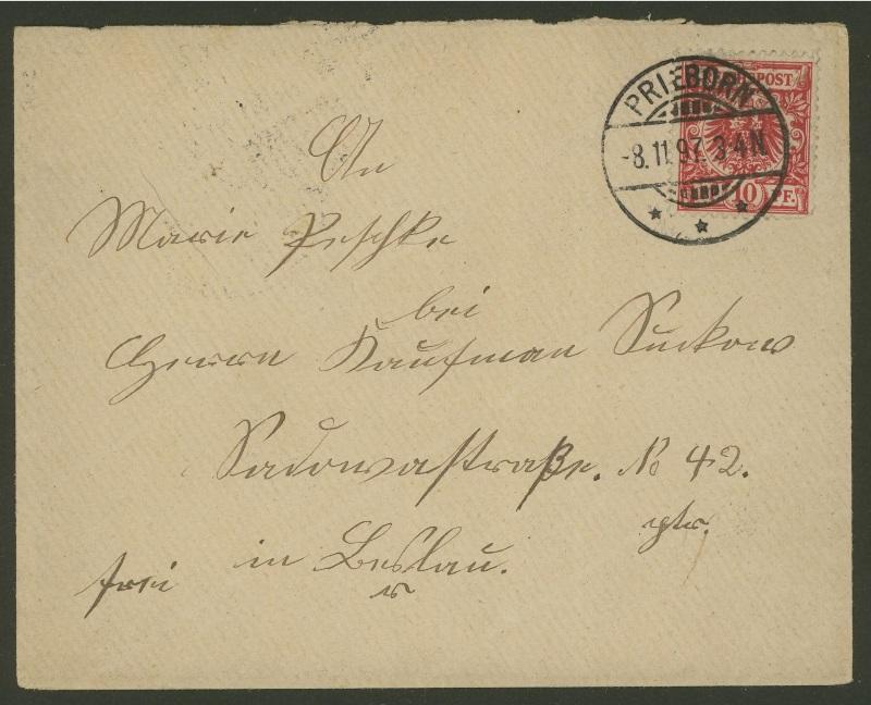 1875 bis 1899 -Pfennige/Pfennig/Krone und Adler Priebo10