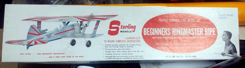 Sterling Beginners Ringmaster Bipe R010