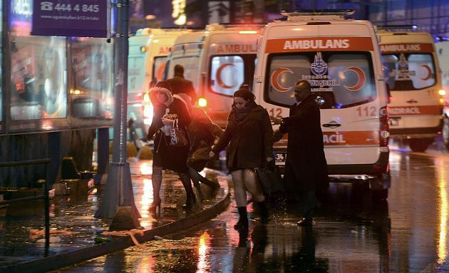 Bewaffneter Überfall auf Club in Istanbul Angrif10