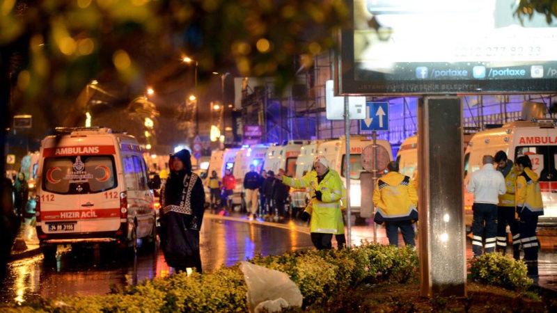 Bewaffneter Überfall auf Club in Istanbul Unbena10