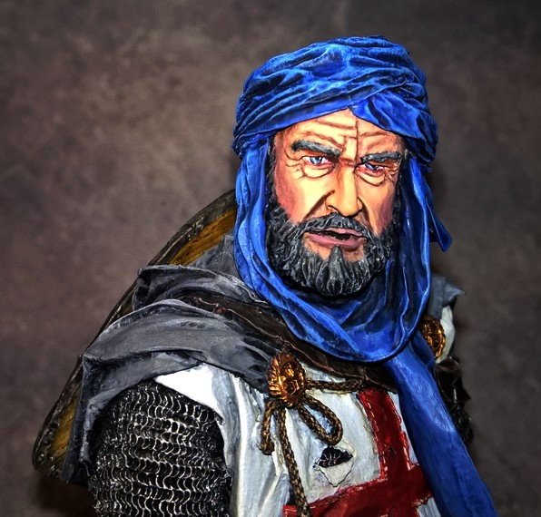 Templier à Jérusalem - Premier buste 37731810