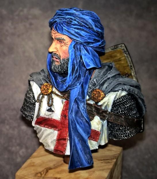 Templier à Jérusalem - Premier buste 53521510