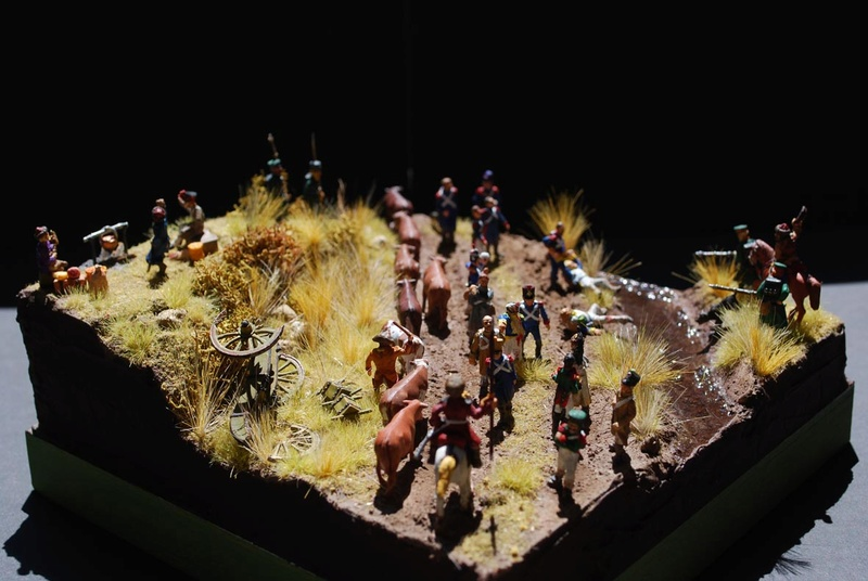 MES PREMIERS DIORAMAS - A LONG, LONG TIME AGO, IN A GALAXY... Apryus11