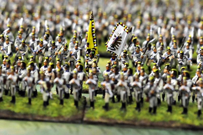 Bataillon d'infanterie autrichienne 1809 Austri13