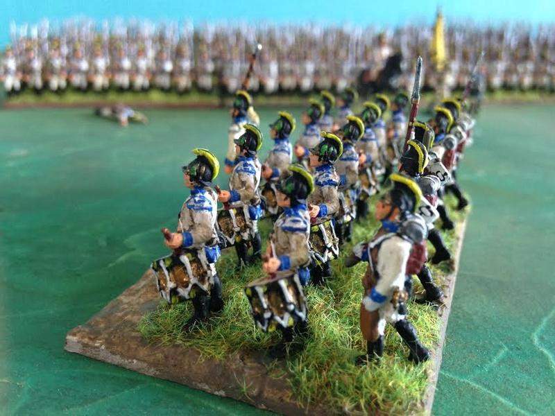 Bataillon d'infanterie autrichienne 1809 Le_tam10