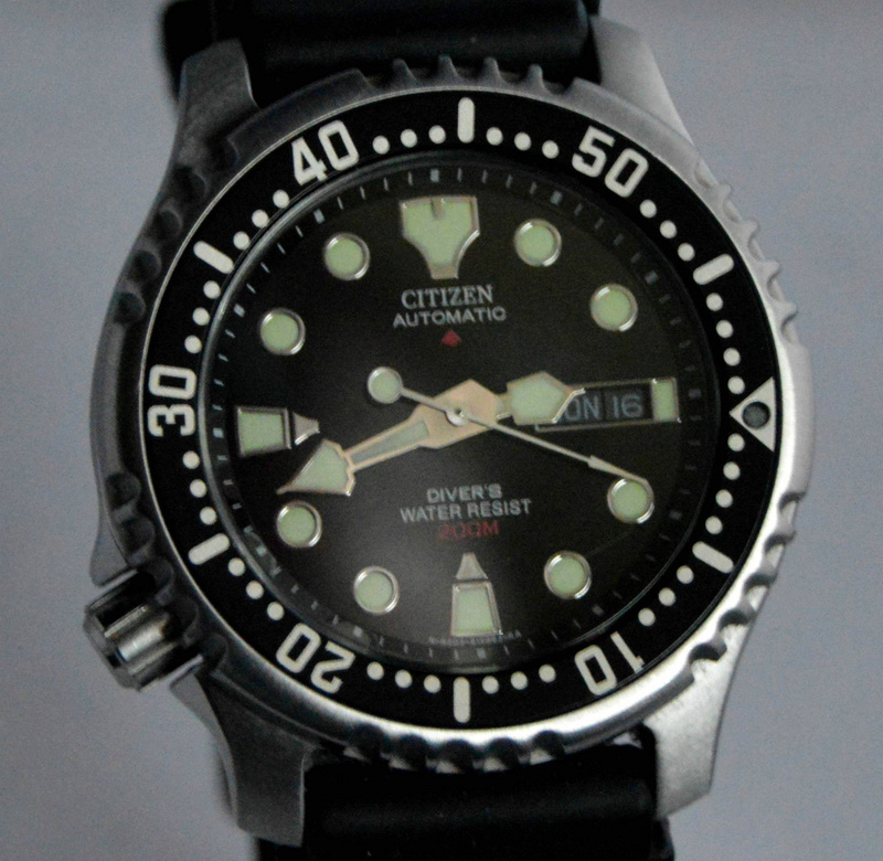 Citizen Aqualand Promaster JP 1010 : changement de lunette S-l16010