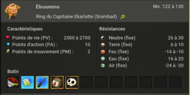 Le Ring du Capitaine Ekarlatte 810
