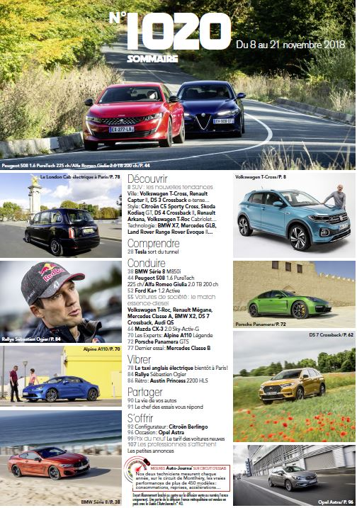 [Presse] Les magazines auto ! - Page 7 Sommai11