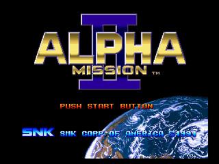 Alpha Mission 2 / ASO 2 Alpham11