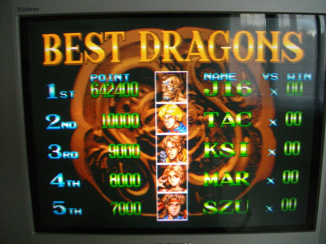 [Scoring] Double Dragon AES/CD/MVS Imgp0913