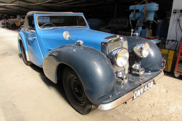 Triumph 1800 Roadster 1948 - Rambouillet Dim 20 Nov 2016 Img_1811