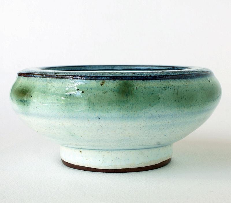 Donald & Elizabeth Swan Pottery Bowl - Castle and Dinas Pottery. Dsc02521