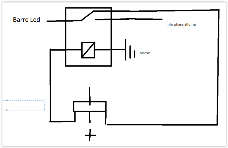 aide schéma de câblage barre led Screen10