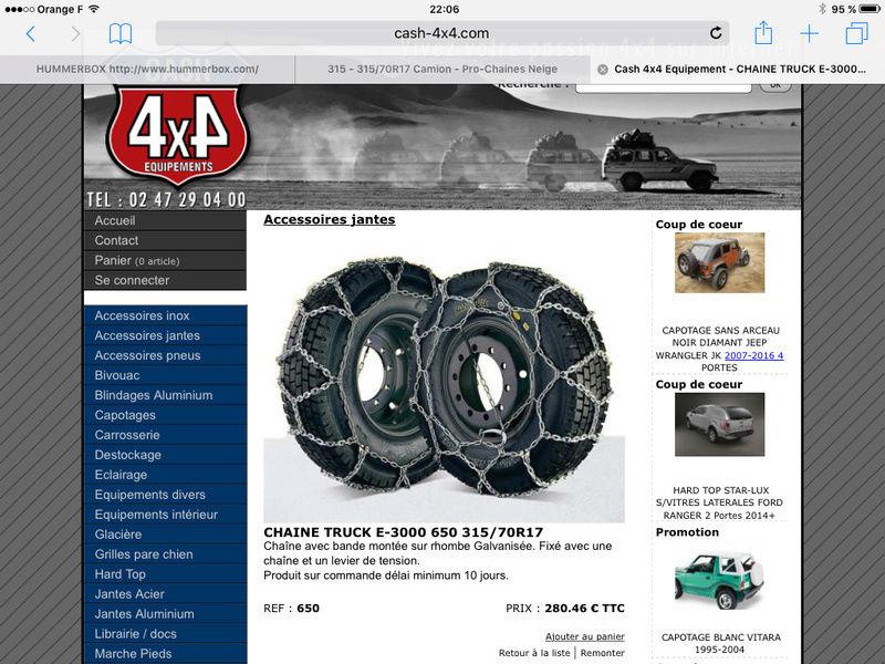 les chaînes à neige pour Hummer  - Page 2 Image11