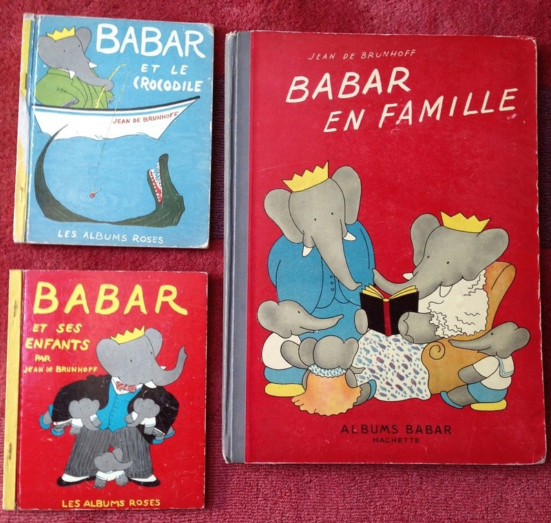 Editions originales des Albums Roses Babar - Page 2 Img_2211