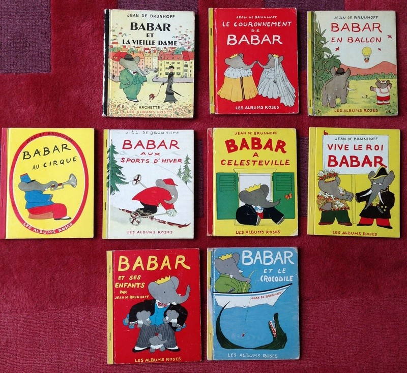 Editions originales des Albums Roses Babar - Page 2 Img_2214