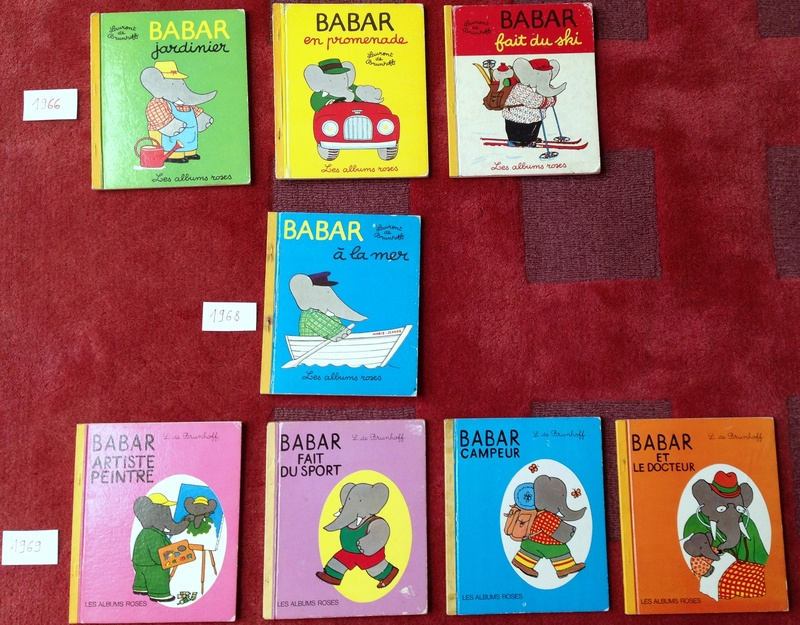 Editions originales des Albums Roses Babar - Page 2 Img_2215