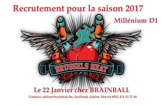 Heat Brussels recrute (Belgique) Brusse10