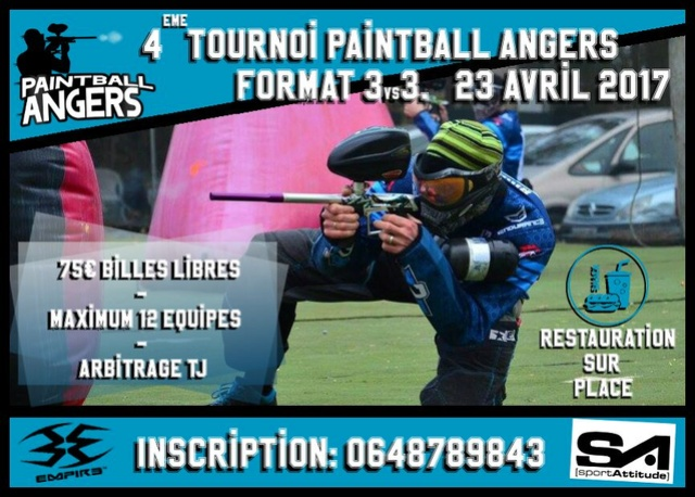 Tournoi Paintball Angers IV (France / 49) Tourno14