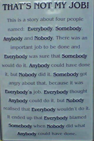 EVERYBODY SOMEBODY ANYBODY & NOBODY 10436310