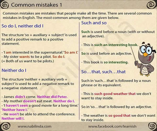 Common Mistakes in English Language - Page 2 Common11