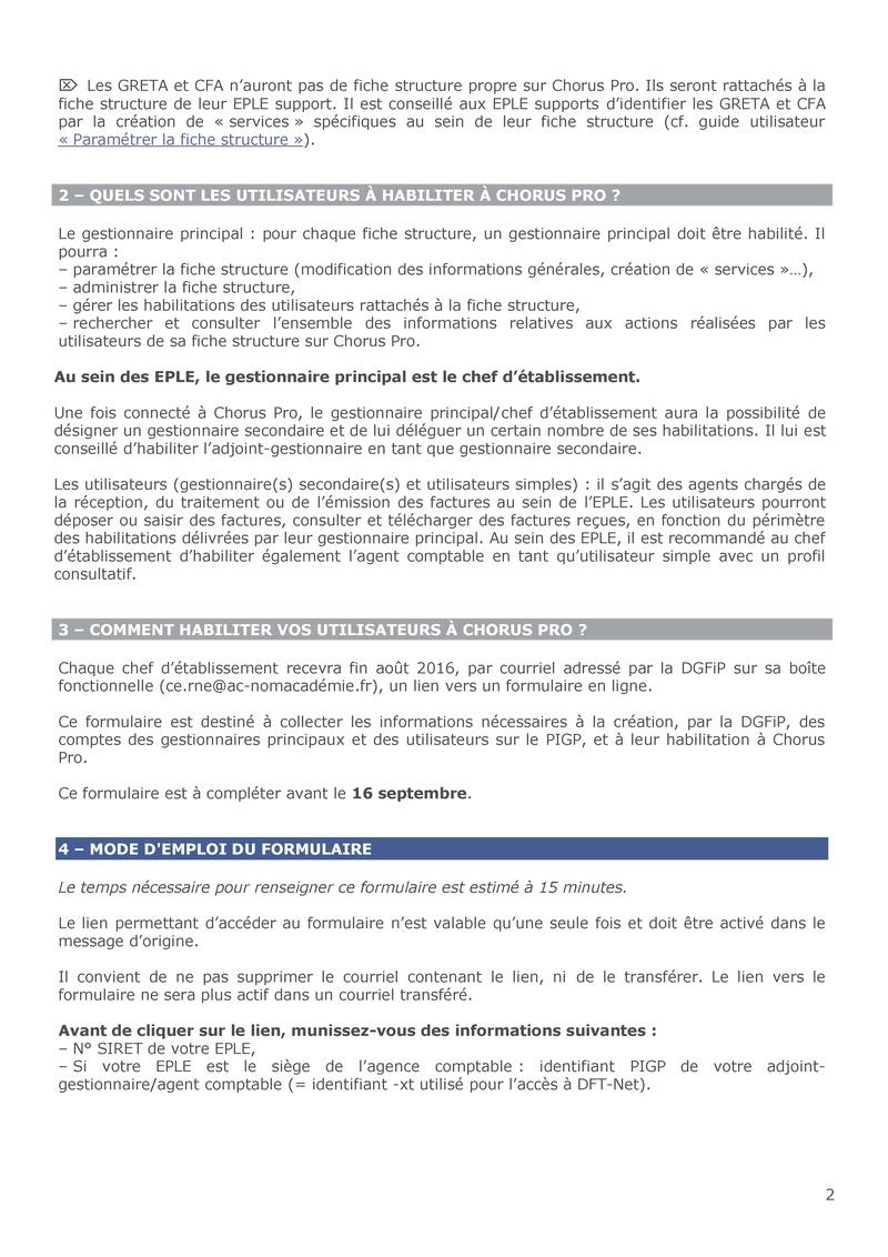Dématérialisation des factures en Greta et CFA Courri10