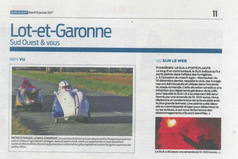 - Le vélomobile dans les médias - Page 13 Articl10