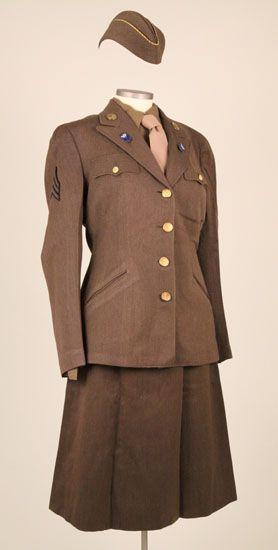 L'UNIFORME FEMININ DE L'US ARMY : LES WAC 74291910