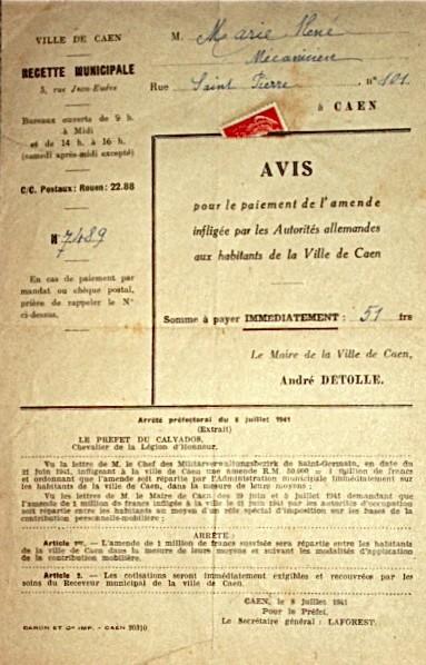 L'occupation Amende11