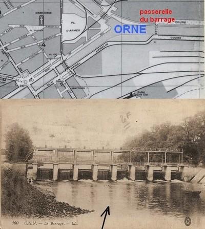 Le débarquement à Caen Barrag10