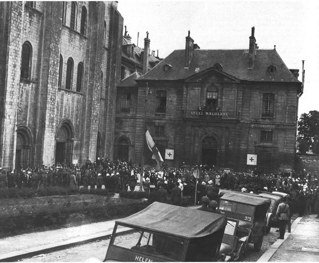 Le débarquement à Caen Ceremo10