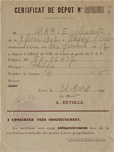 L'occupation - Page 2 Certif10