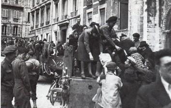 Le débarquement à Caen Evacua11