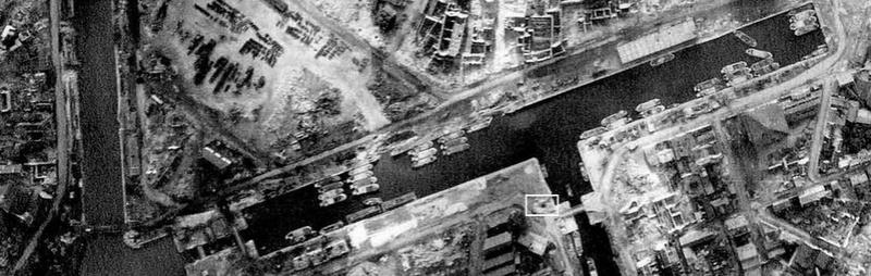 les ponts de Caen sur l'Orne à la date du 6 juin 1944 Fonder10