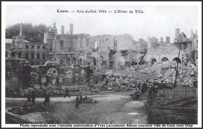 Le débarquement à Caen Hoteld10
