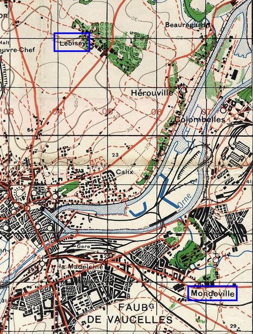 Le débarquement à Caen Lebise10