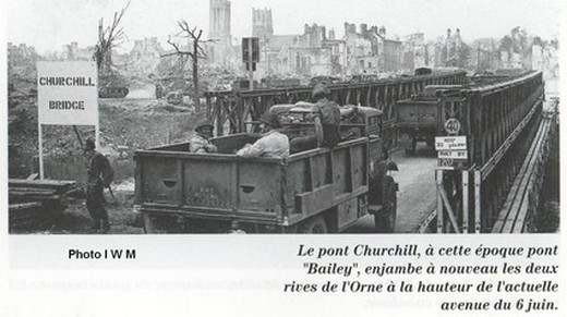 Le débarquement à Caen Pont-c10
