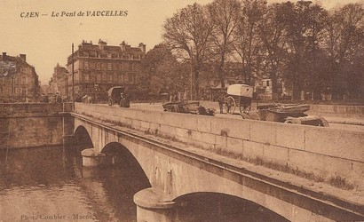 les ponts de Caen sur l'Orne à la date du 6 juin 1944 Pont-v10