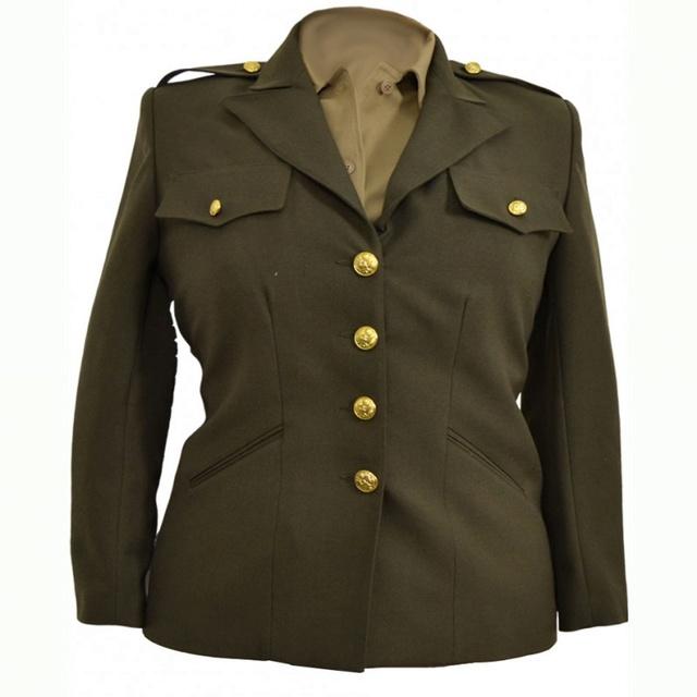 L'UNIFORME FEMININ DE L'US ARMY : LES WAC Veste-10