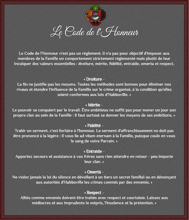 Le code de l'honneur Captur10