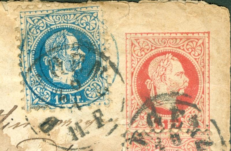 Freimarken-Ausgabe 1867 : Kopfbildnis Kaiser Franz Joseph I - Seite 14 Ganzsa17