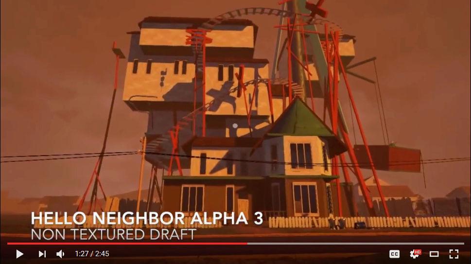 My 'Hello Neighbor' knock off game! Aa10