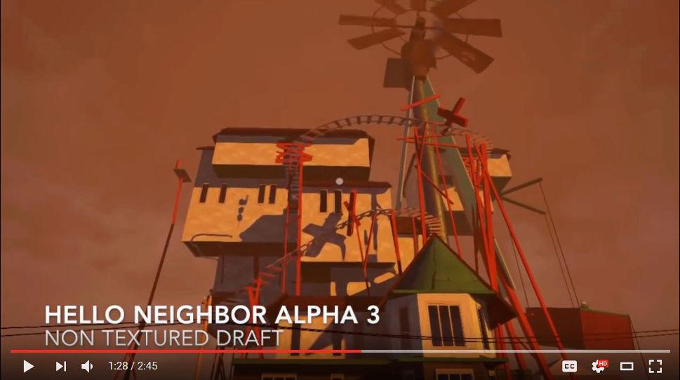 My 'Hello Neighbor' knock off game! Bb10